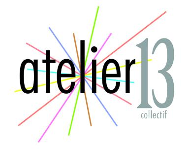 logo collectif Atelier13 - Dieppe