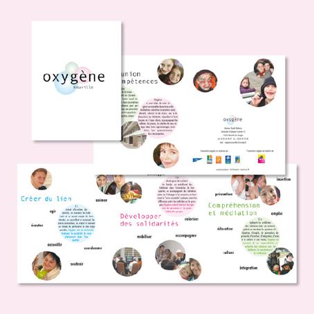 Association Oxygène - plaquette
